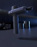 Массажный пистолет Xiaomi Yunmai Pro Basic massage gun перкуссионный - Черный, фото 3