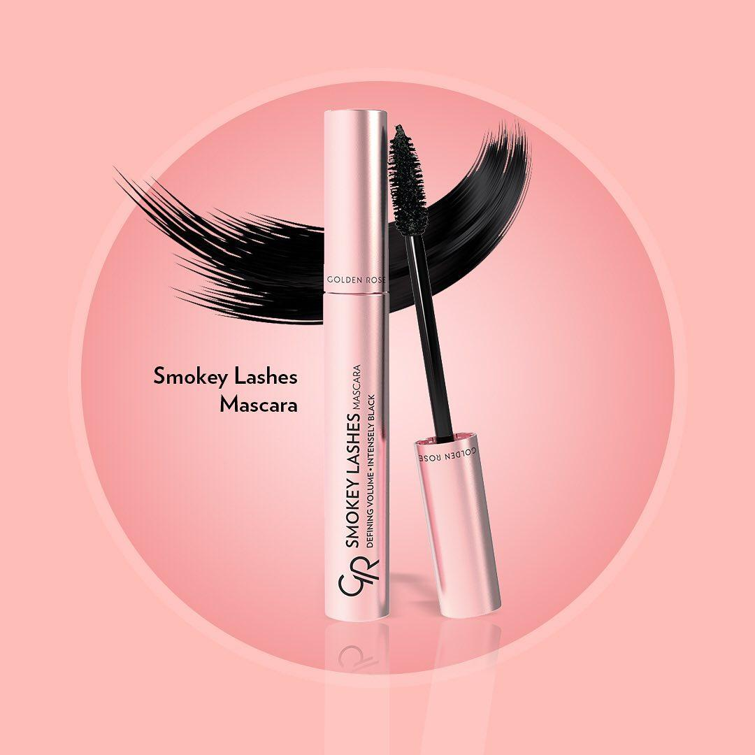 Тушь SMOKEY LASHES  от Golden Rose