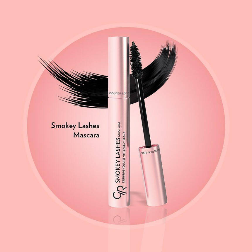 Тушь SMOKEY LASHES  от Golden Rose, фото 2