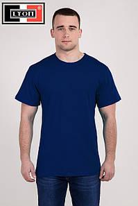 Однотонна бавовняна футболка LYON