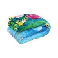 Одеяло Руно Тюльпан двуспальное 172*205 см микрофибра/силиконовое волокно теплое арт.316.52СЛБ_Тюльпан