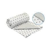 Одеяло Руно полуторное 140*205 см бязь/хлопковое волокно легкое белое арт.321.02ХБУ_White