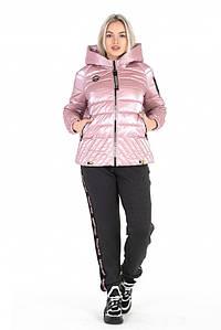 Куртка женская весенняя «Элиза» - розовый