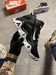 Мужские кроссовки Nike Air Max Barrage Black White (черный)