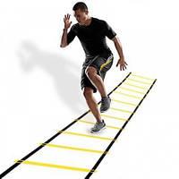Координационная беговая дорожка лестница 6 метров, 12 ступеней, толщина 2 мм