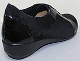 Женские туфли больших размеров от производителя модель МИ3001-3, фото 4
