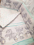 """Комплект """" Cup"""" в детскую кроватку, фото 2"""
