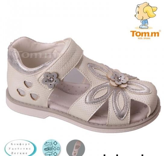 Детская летняя обувь бренда Tom.m для девочек размер 27-16.5 см.