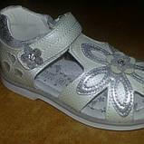 Детская летняя обувь бренда Tom.m для девочек размер 27-16.5 см., фото 2