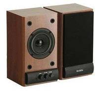 Колонки F&D R-215 (beech) Active speakers 2x3W, деревянный корпус
