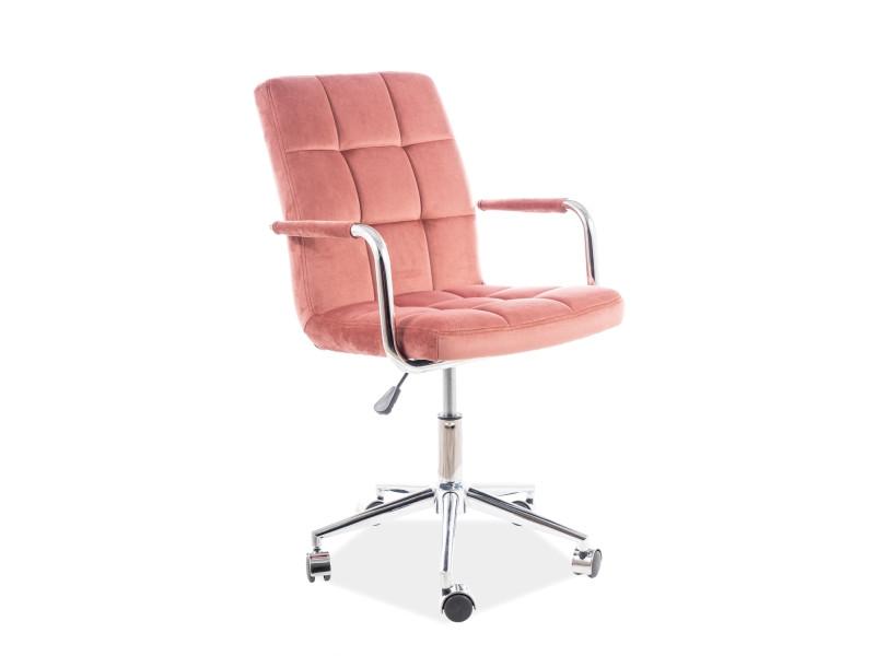 Компьютерное кресло Q-022 Velvet SIGNAL Bluvel 52-античный розовый