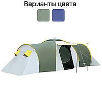 Большая туристическая палатка Acamper NADIR 6 с тамбуром шестиместная
