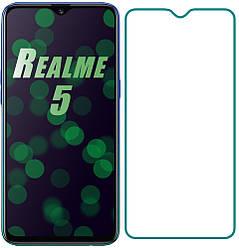 Защитное стекло Realme 5 (Прозрачное 2.5 D 9H) (Реалми 5)