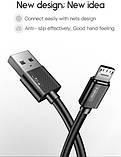 Кабель T-PHOX Nets T-M801 Micro USB - 0.3m (Черный), фото 4