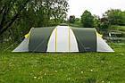 Большая туристическая палатка Acamper Nadir 8 с тамбуром восьмиместная Синий, фото 5