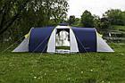 Большая туристическая палатка Acamper Nadir 8 с тамбуром восьмиместная Синий, фото 4