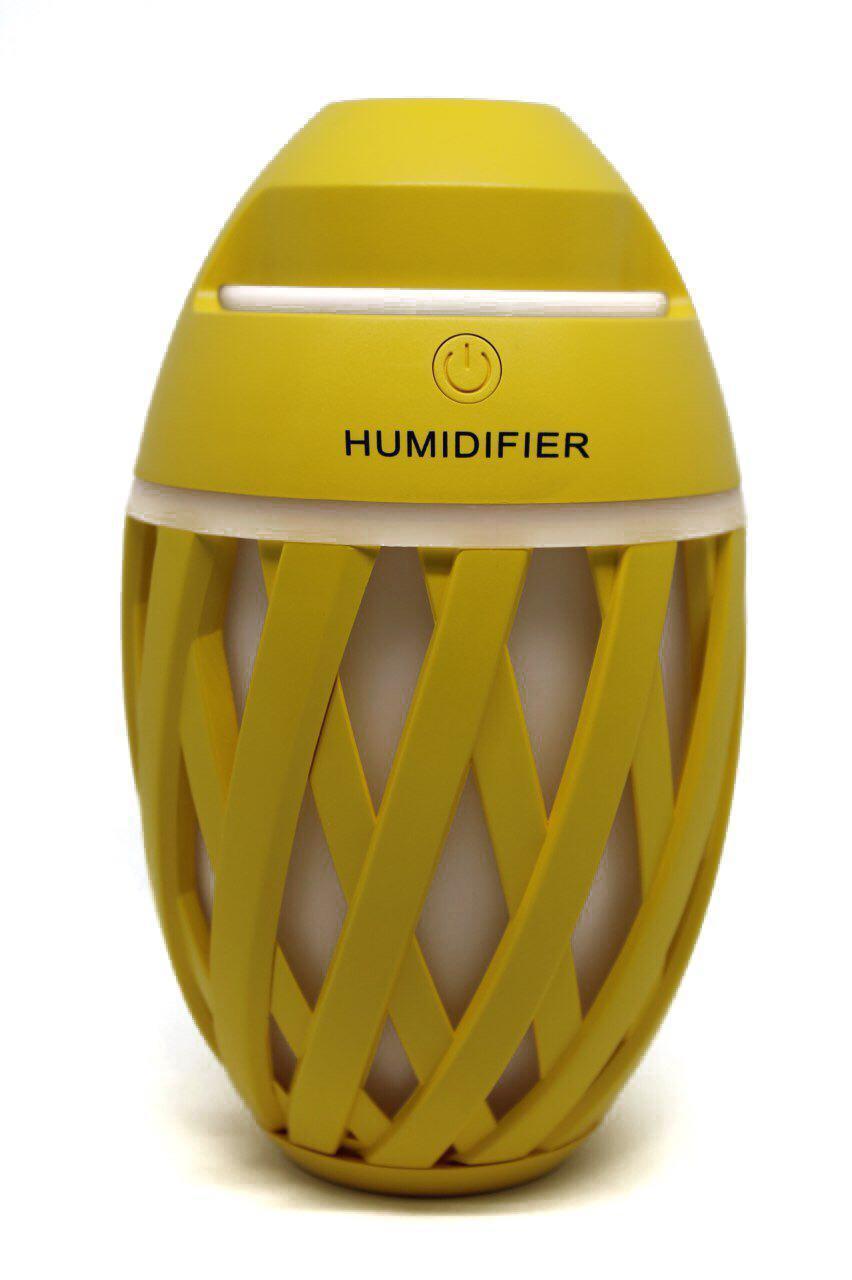 Мини увлажнитель воздуха ночник Anymore small humidifier Желтый (15667Y)