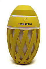 Міні зволожувач повітря нічник Anymore small humidifier Жовтий (15667Y)