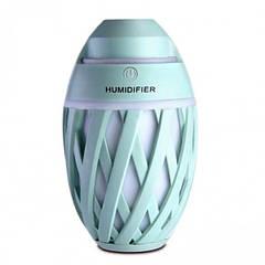 Міні зволожувач повітря нічник Anymore small humidifier М'ятний (15667G)