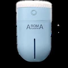 Міні зволожувач Зволожувачі повітря AromA Blue (hubber-244)