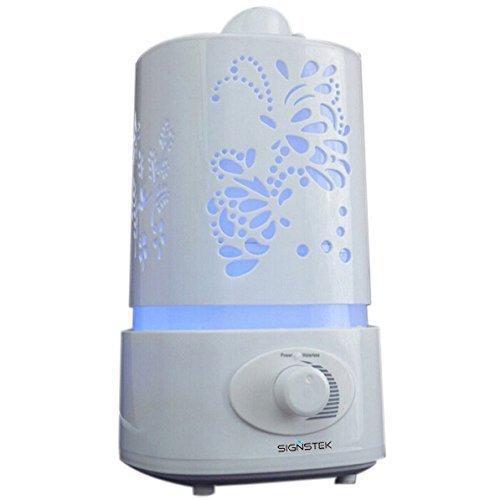 Ультразвуковой увлажнитель воздуха с подсветкой Белый (4851)