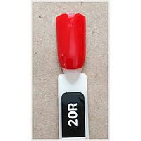 Гель-лак Kodi Professional 20R, Огненно-красный, эмаль