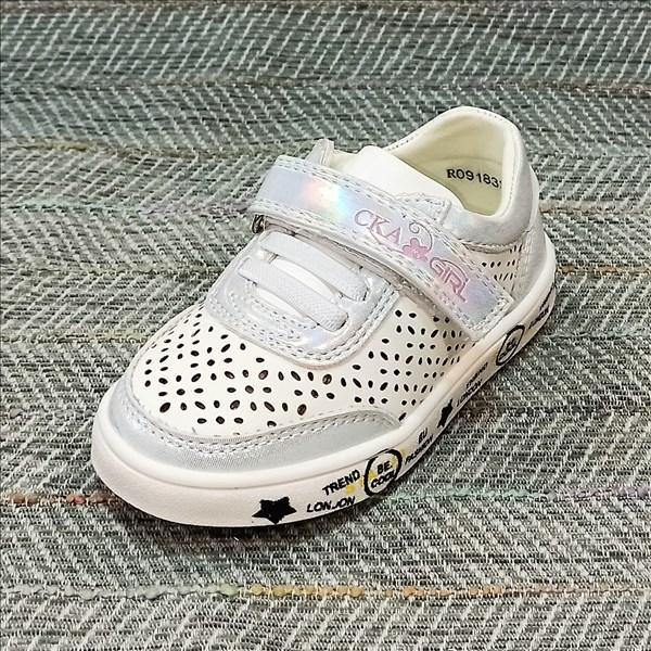 Дитячі кросівки з перфорацією дівчинка, Казка розміри: 21