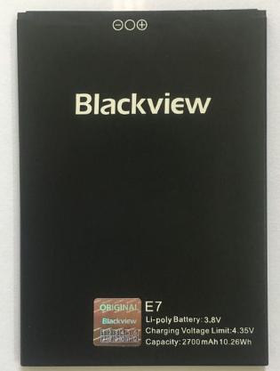 Аккумулятор (Батарея) для Blackview E7 (2700 mAh), фото 2