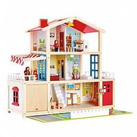 Деревянные домики для кукол