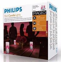 Свечи Philips imageo Candles красные 3шт, фото 1