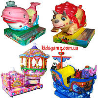 Детские качалки премиум класса  Развлекательное оборудование для детей