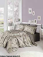 Комплект постельного белья сатин First Choice Calisto Toprak