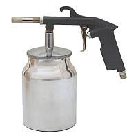 Пневмопистолет пескоструйный мет. бак Sigma SKL11-236601