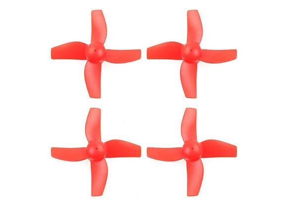 Пропеллеры для Eachine E010 комплект 4шт (красный), фото 2