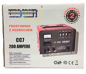 Пуско-зарядное устройствоEuro Craft Польша 200A (СС7), фото 2
