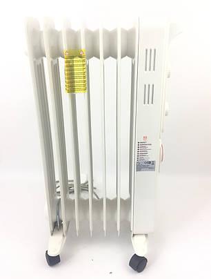 Масляный обогреватель 1.5 кВт, 7 секций (HD943-7TQ), фото 2
