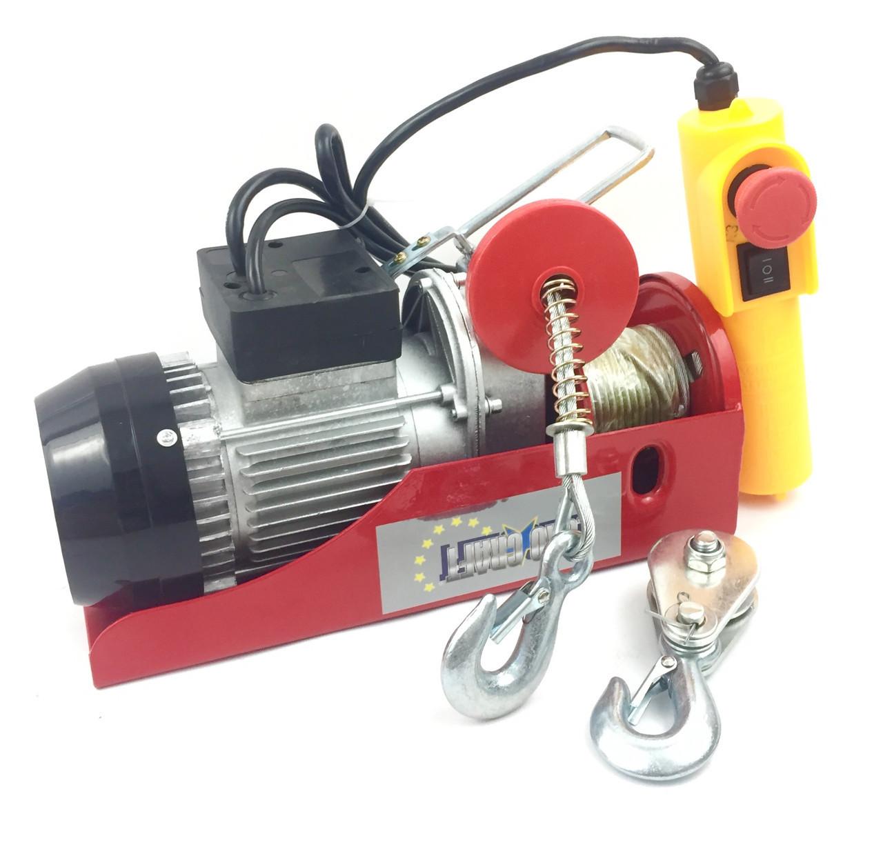 Электрический тельфер Euro Craft 150/300 кг (HJ202)