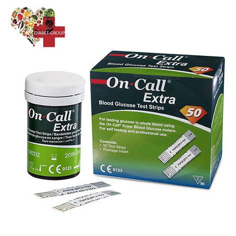 Купить тест-полоски On Call Extra (Он Колл Экстра) 50 шт., фото 2