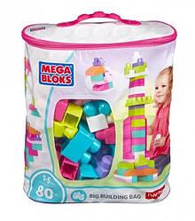 Конструктор Mega Bloks - Классический (First Builders, Pink) розовый, 80 дет, 1+ (DCH62)