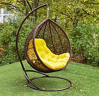 "Подвесное кресло-кокон ""Веста"" коричневая, фото 1"
