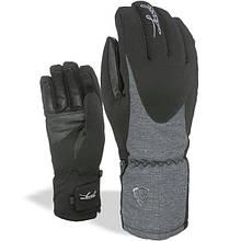 Гірськолижні рукавички Level Alpine W кол.чорний-сірий | розмір - 6,5 (ХS), 8 (M)