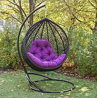 """Подвесное кресло-кокон """"Веста"""" черная"""