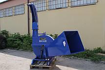 Дробилка древесных отходов, щеподробилка, рубильная машина, щепорезка, щепобойка  BX-92  250ММ, фото 3