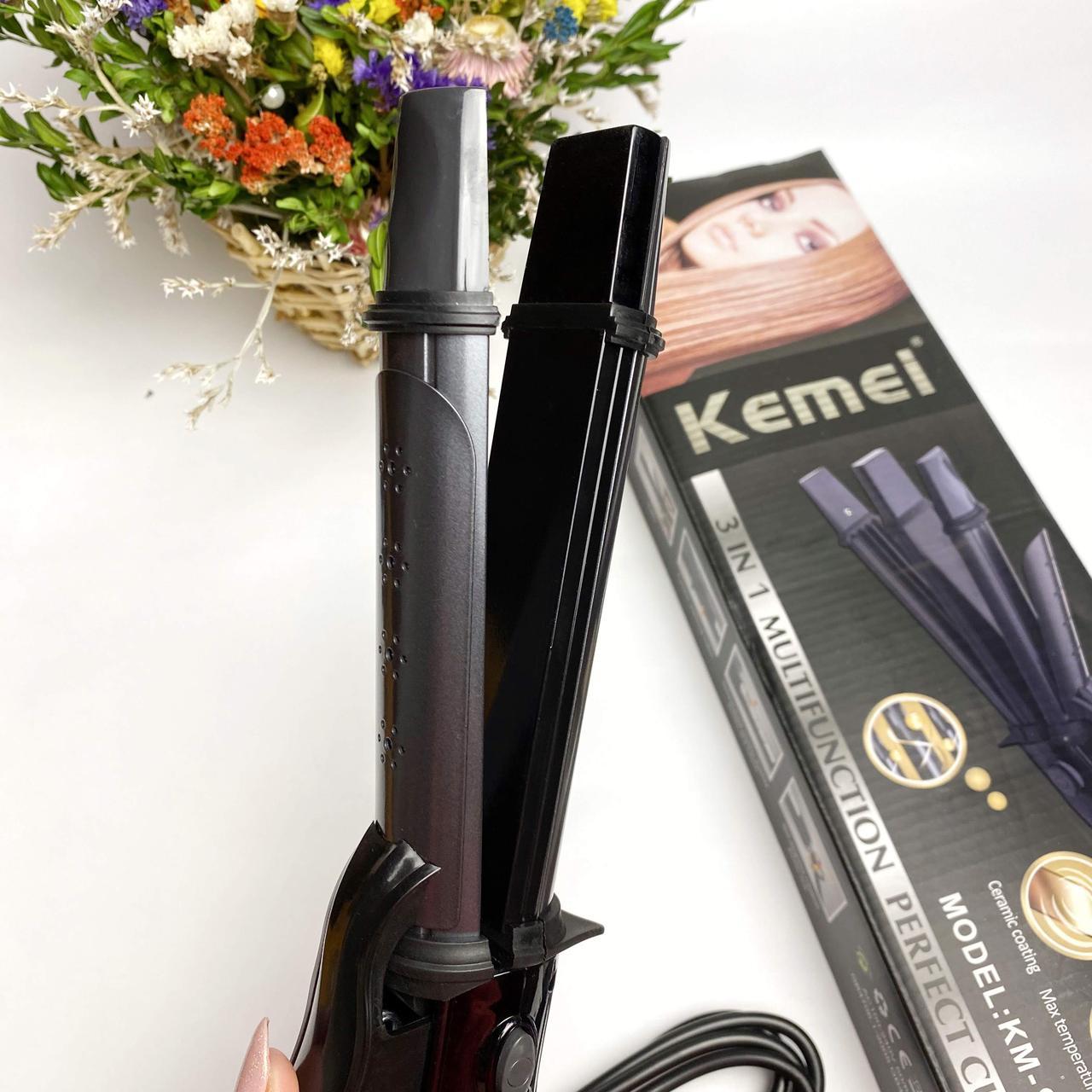 Плойка Kemei GB-KM 988 3 в 1, фото 2