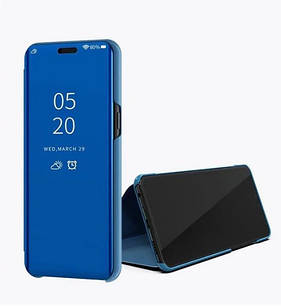 Чехол-книжка Mirror для Samsung A10S 2019 / A 107F Зеркальная Синий