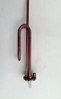 Тэн 1,5 кВт, фланец, гнутый, под анод (Турция)