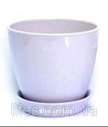 Вазон керамический ВК 13 лавандовый 1.2л
