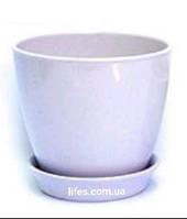Вазон керамический Лавандовый ВК 13