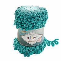 Пряжа для вязания руками Ализе Пуффи файн омбре батик PUFFY FINE OMBRE BATİK 7246