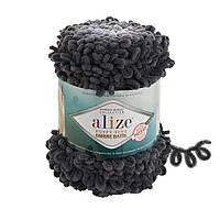 Пряжа для вязания руками Ализе Пуффи файн омбре батик PUFFY FINE OMBRE BATİK 7259